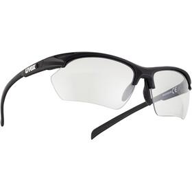 UVEX Sportstyle 802 V Sportglasses Small Women black mat/smoke